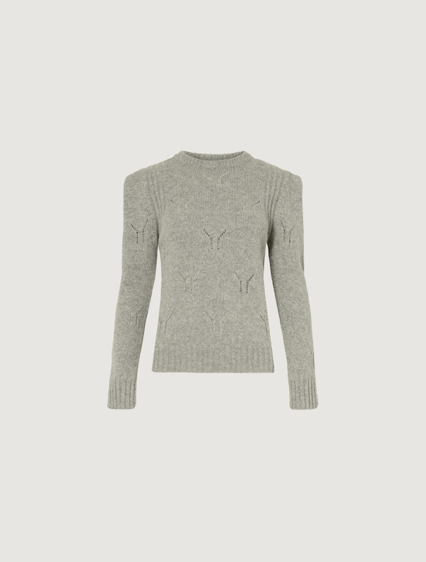 Mesh-knit sweater Marella