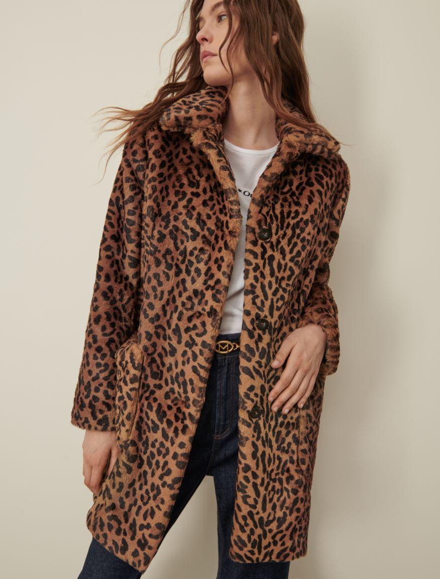 Single-breasted coat Marella