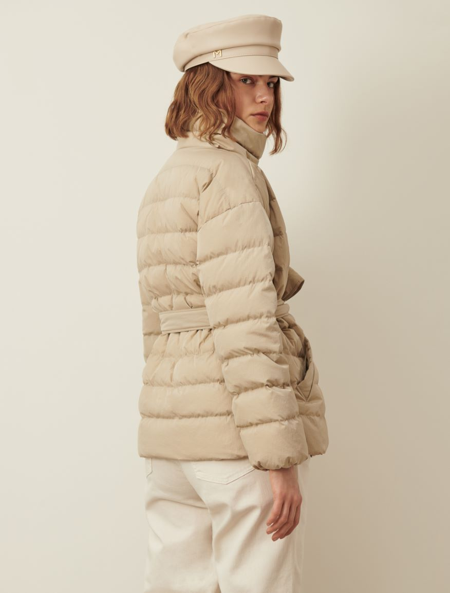 Belted down jacket Marella