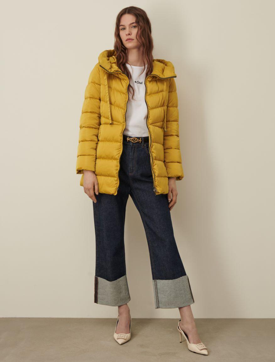 Satin padded jacket Marella