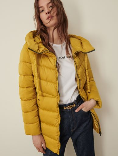 Wattierte Jacke aus Satin Marella
