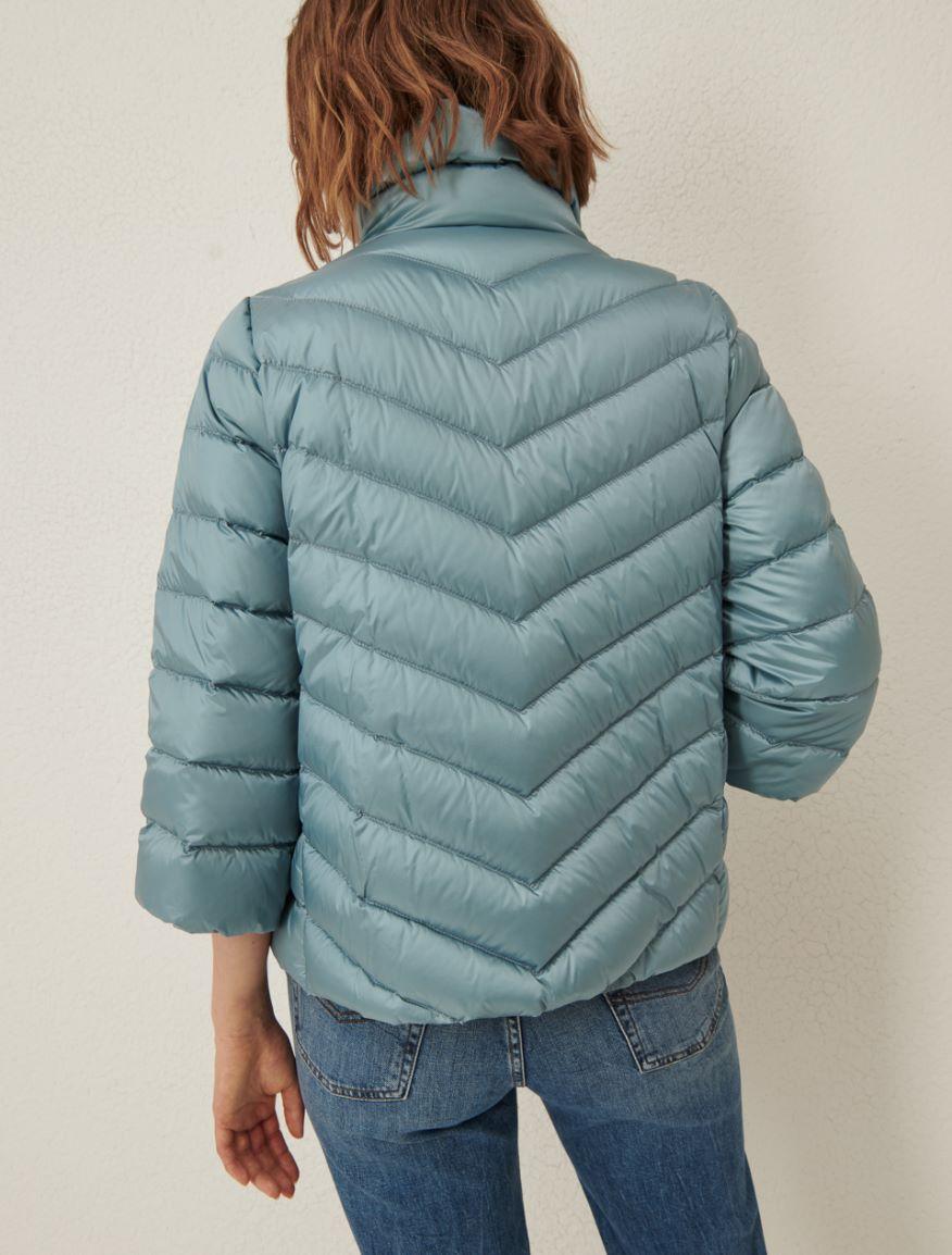 Satin down jacket Marella