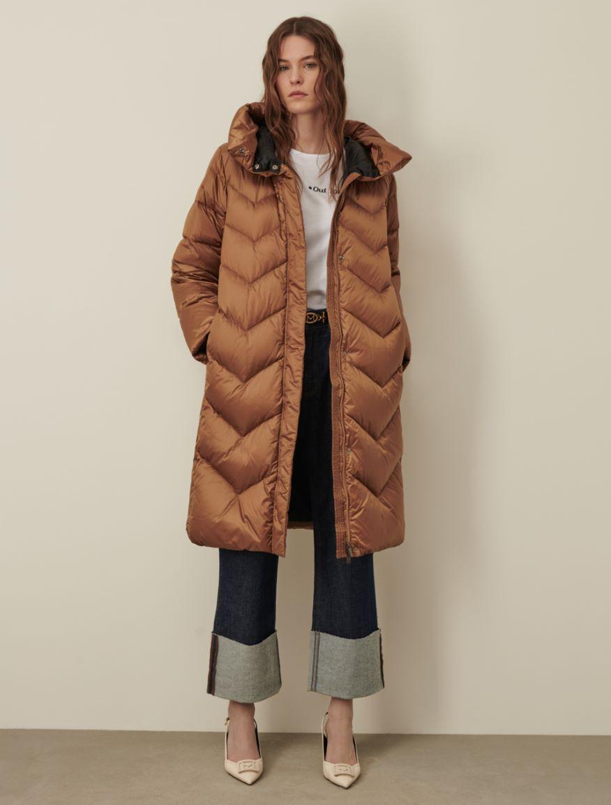 Long down jacket Marella