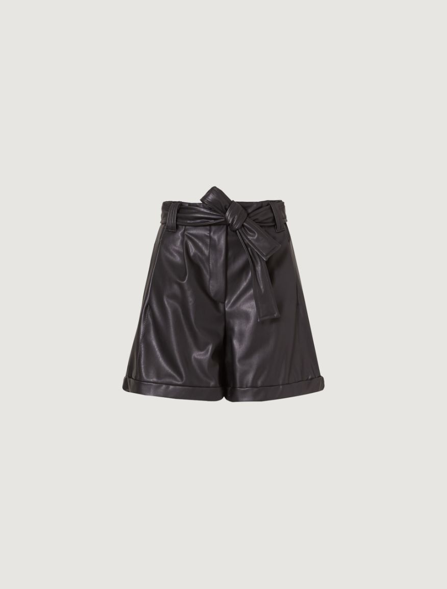 Belted Bermuda shorts Marella