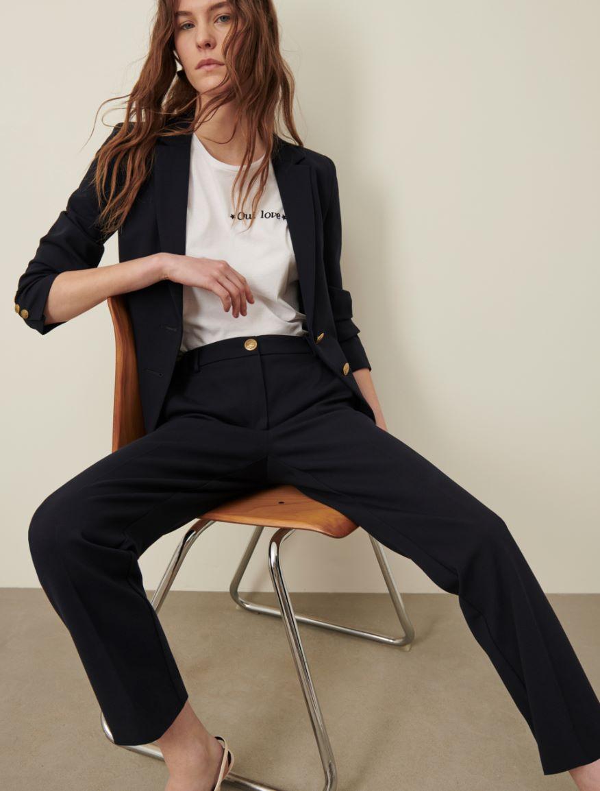 Jersey trousers Marella