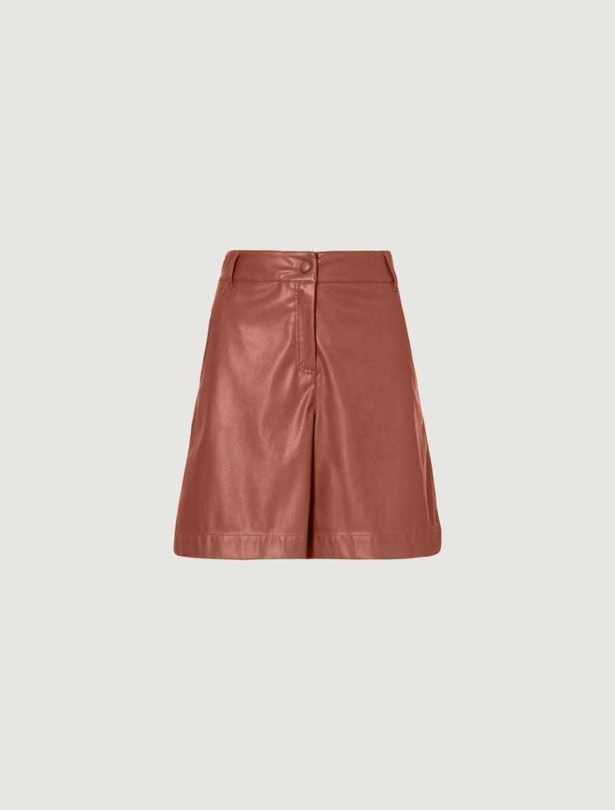 Coated jersey Bermuda shorts Marella