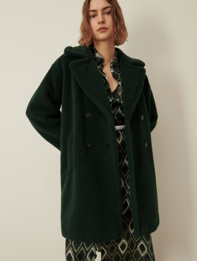 Mantel aus Teddy Marella