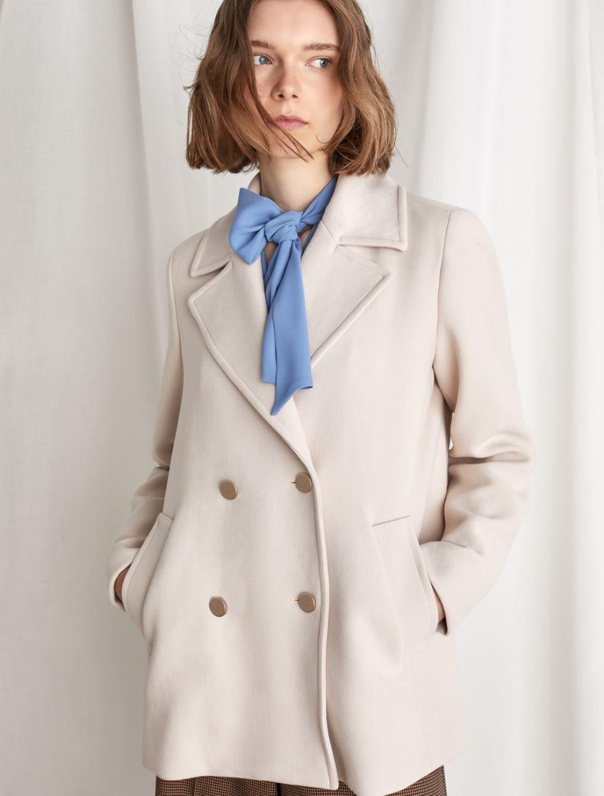 Double-breastedpeacoat Marella