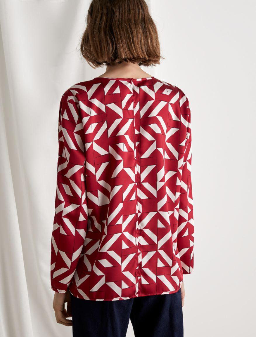 Twill blouse Marella