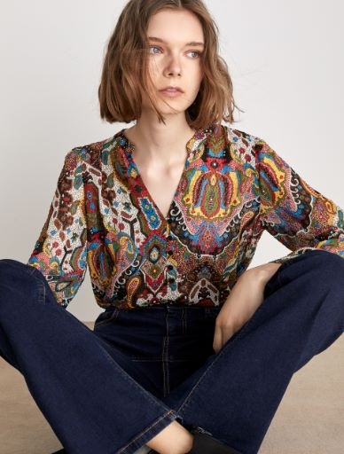 Fil coupé blouse Marella