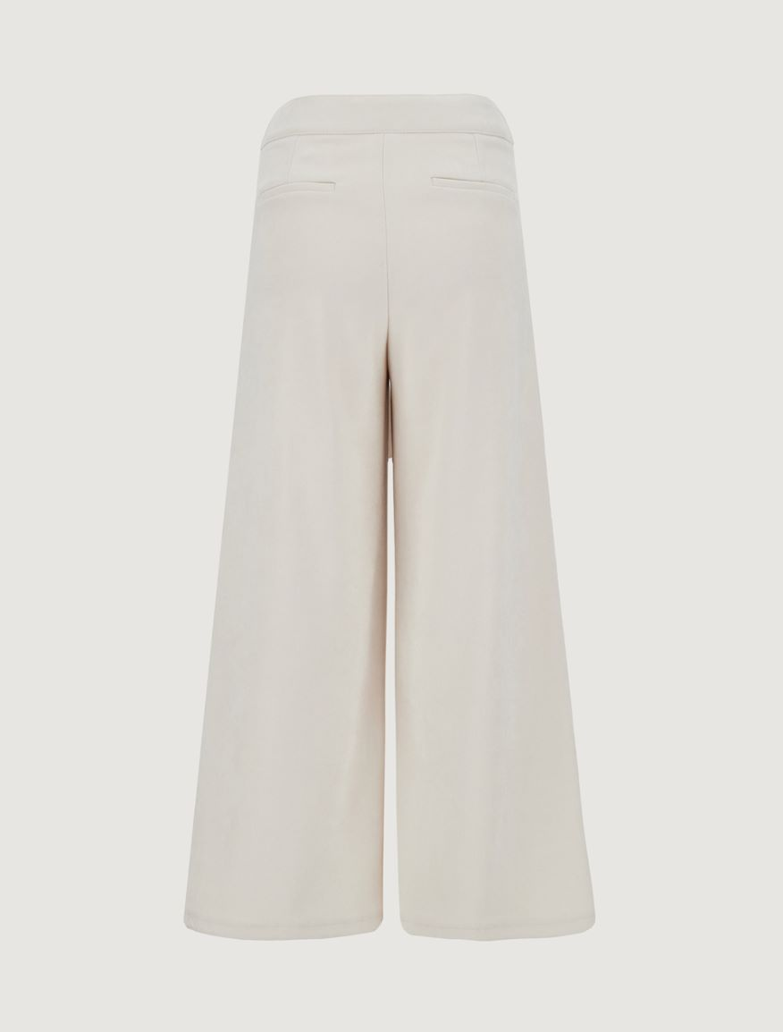 Velvet trousers Marella
