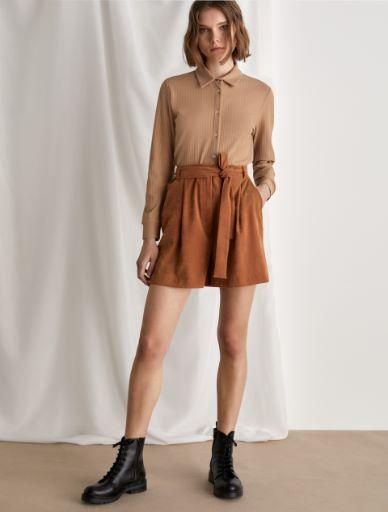 Shorts in velluto Marella