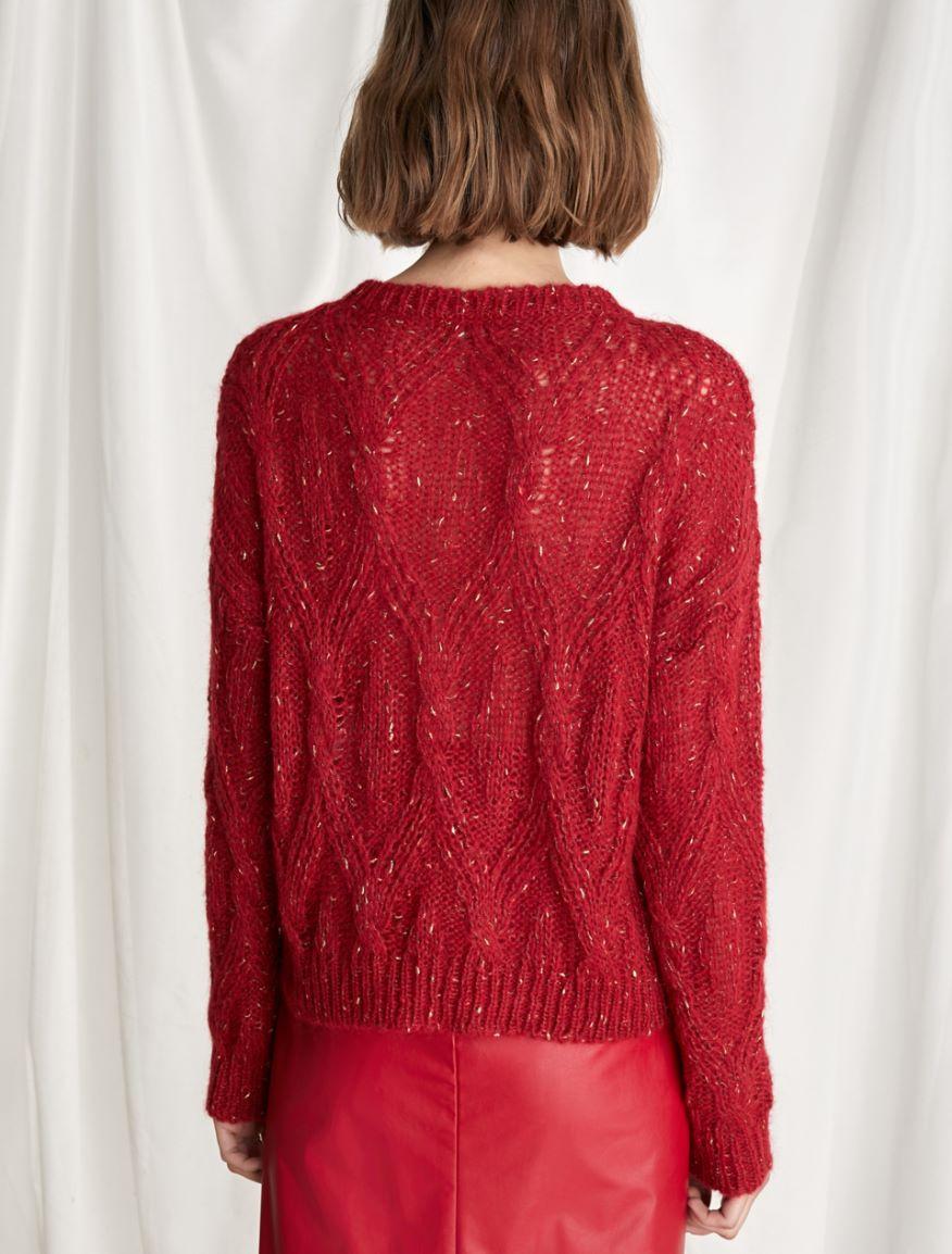 Cable-knit sweater Marella