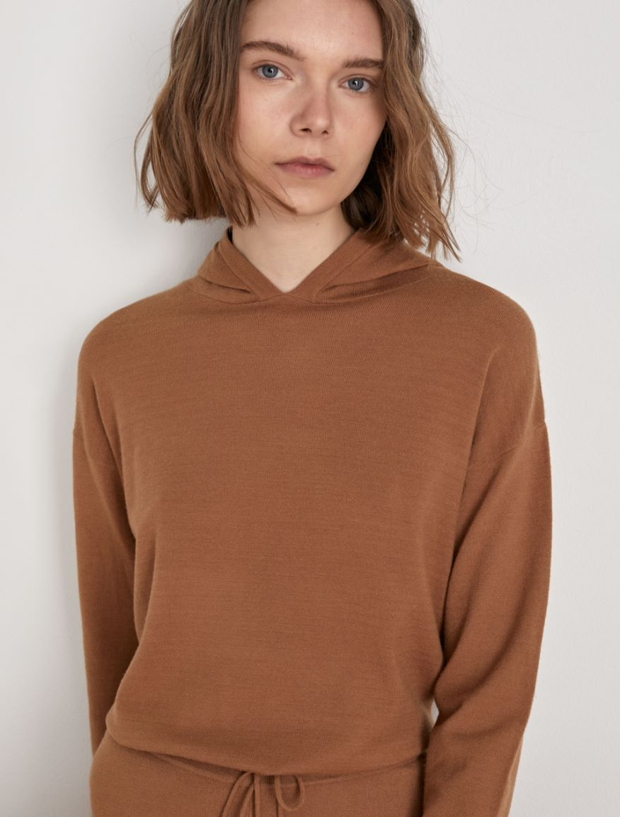 Hooded sweater Marella