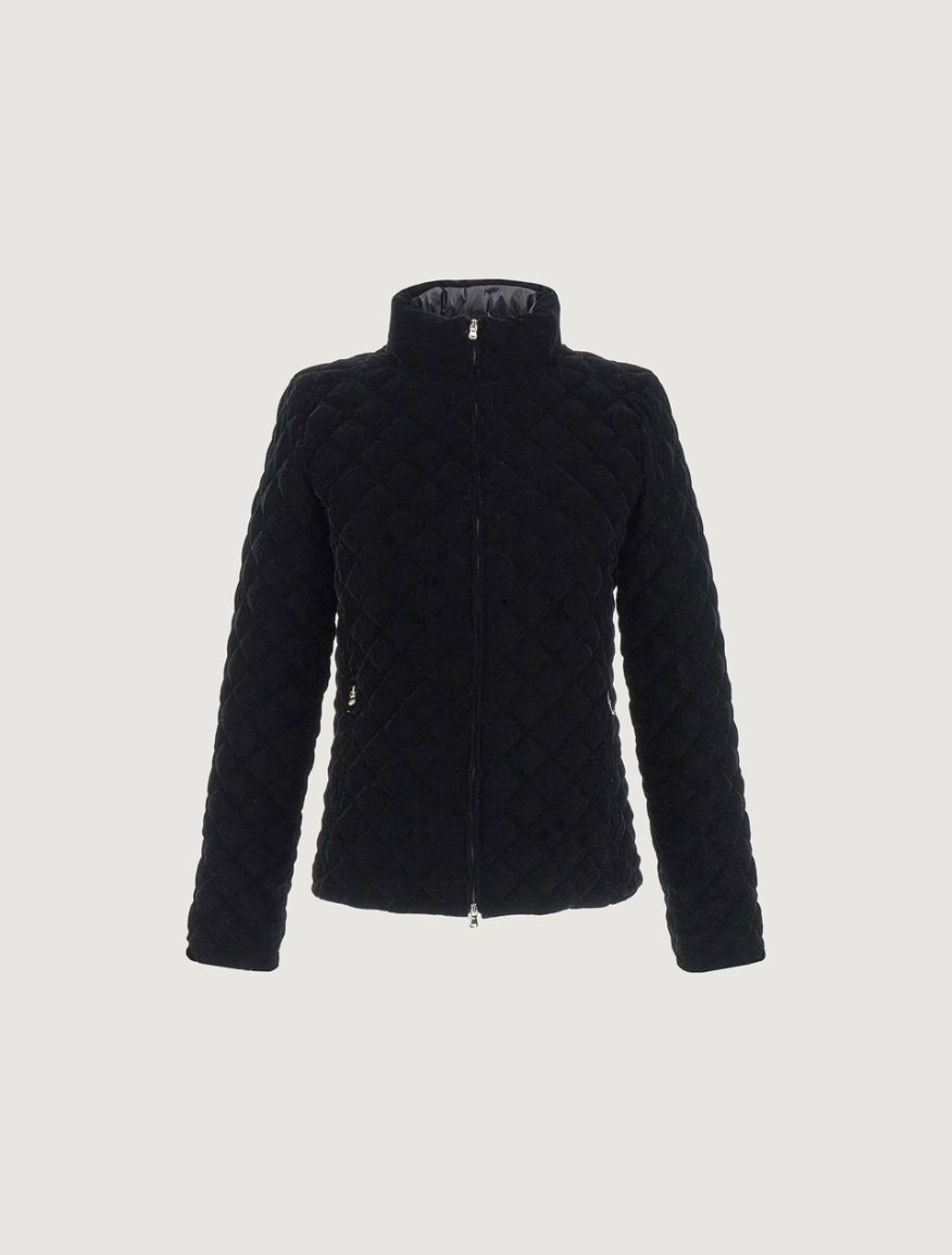 Velvet padded jacket Marella