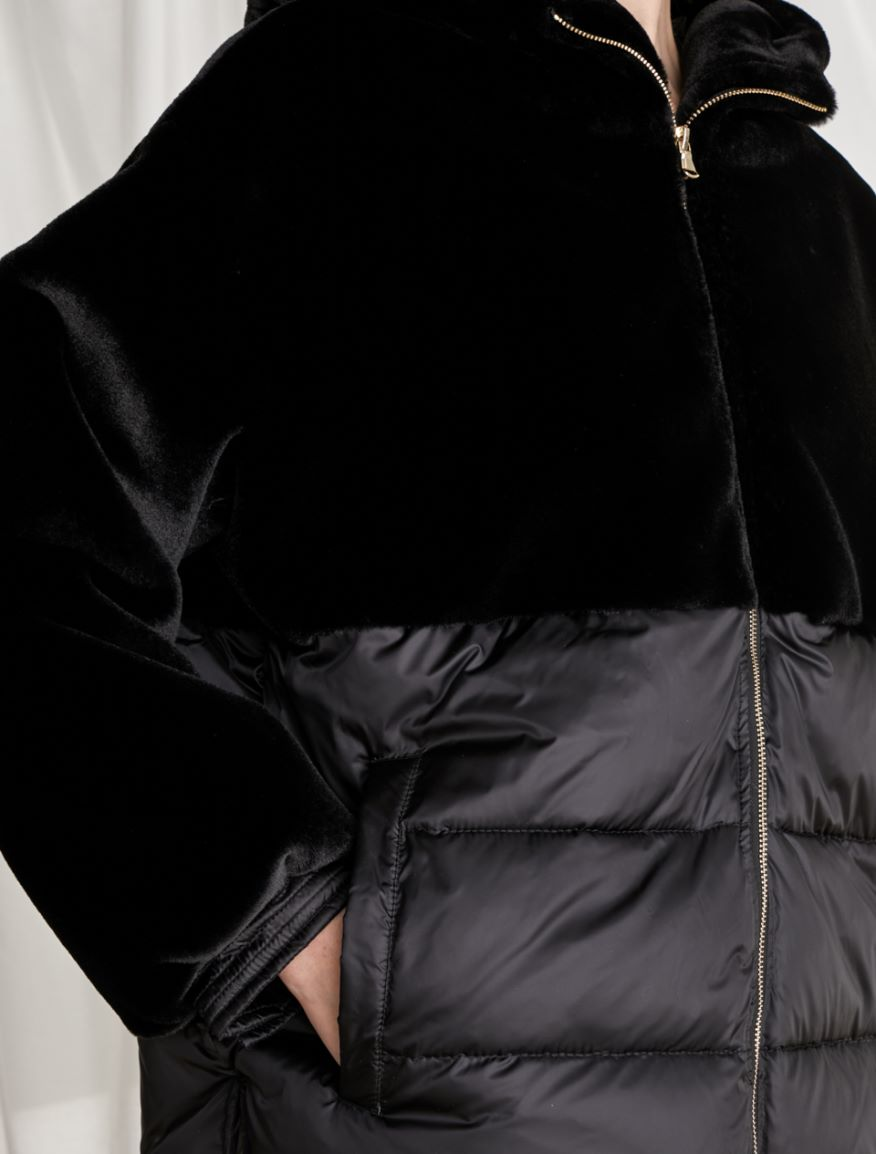 Hooded padded jacket Marella