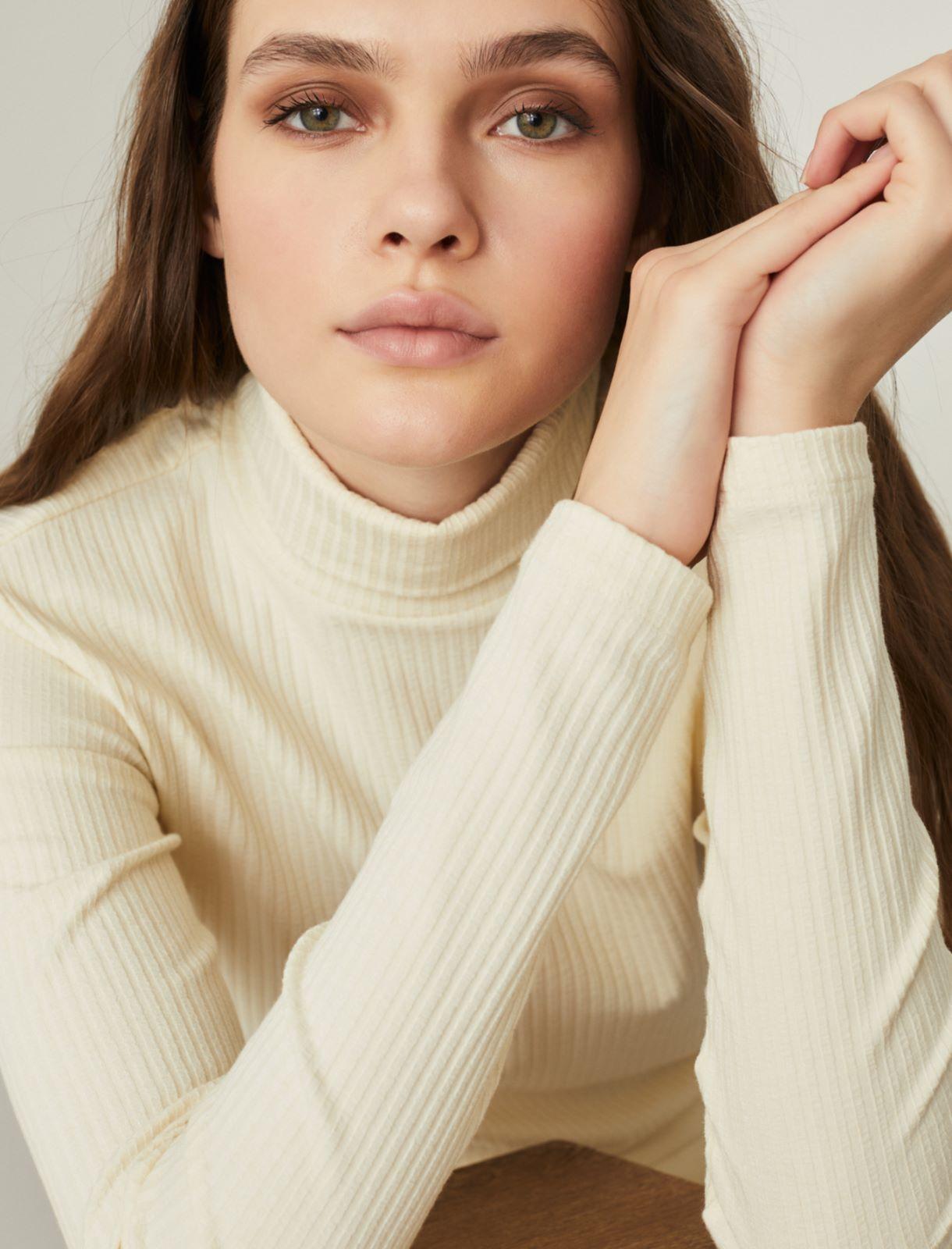 Jersey polo-neck sweater Marella
