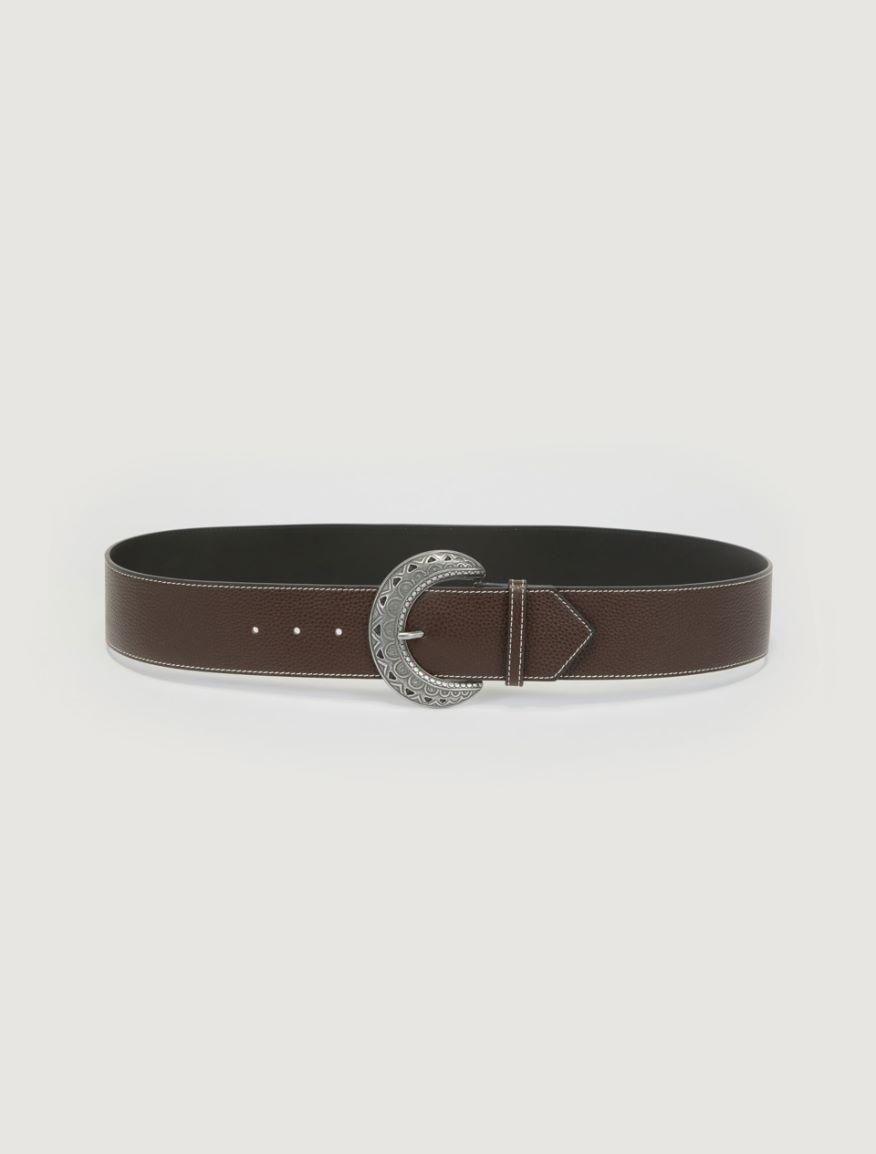 Leather belt Marella
