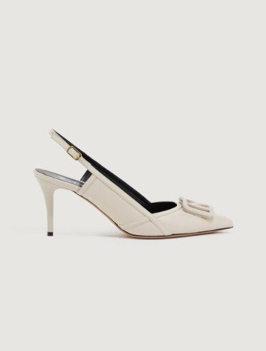 Slingback court shoes Marella