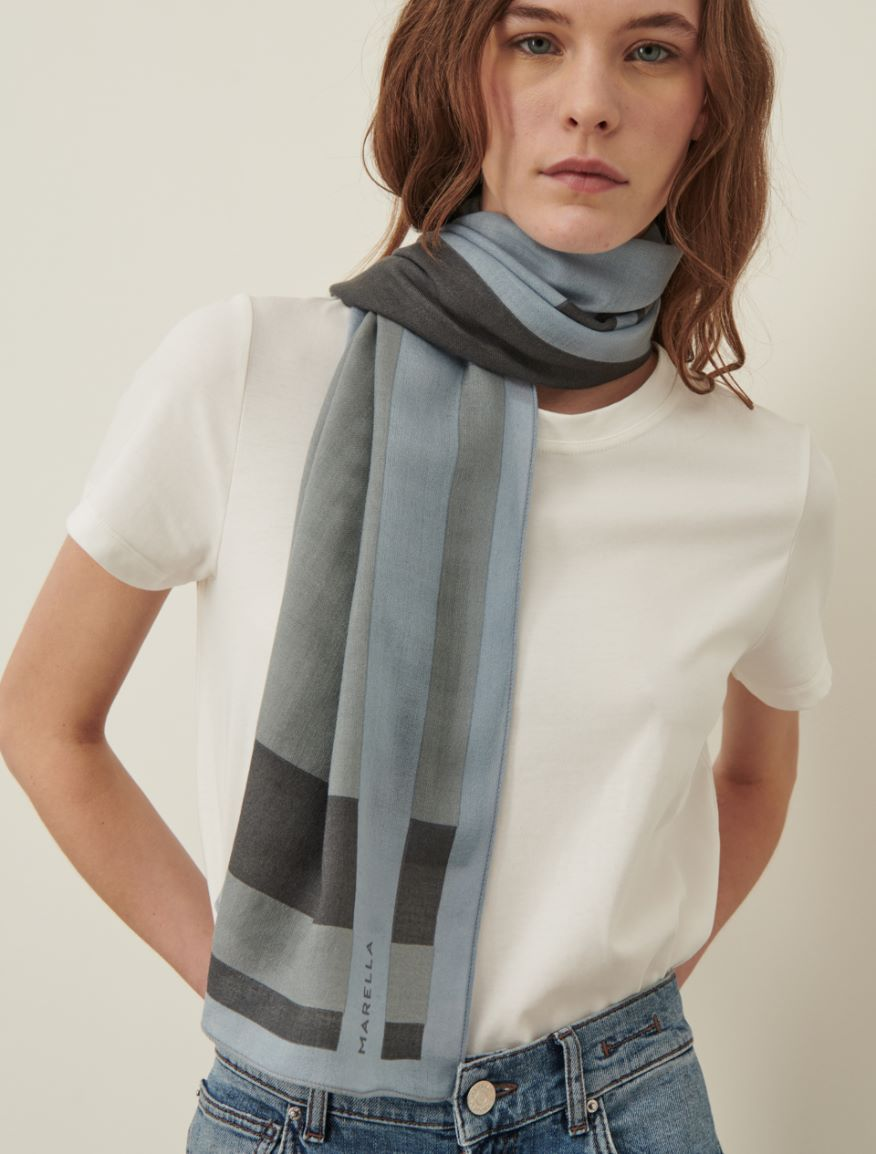 Patterned stole Marella
