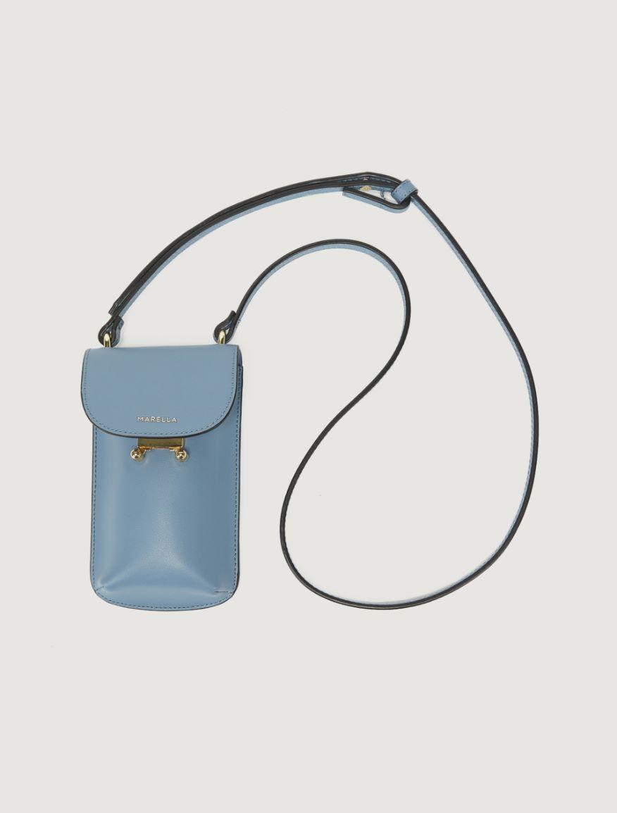 Leather phone holder Marella