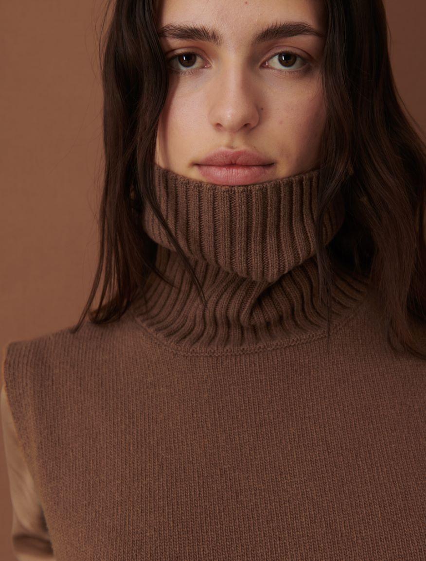 Wool bib top Marella