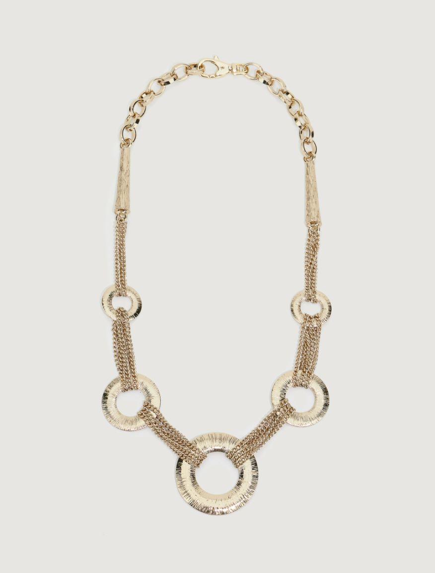 Golden necklace Marella