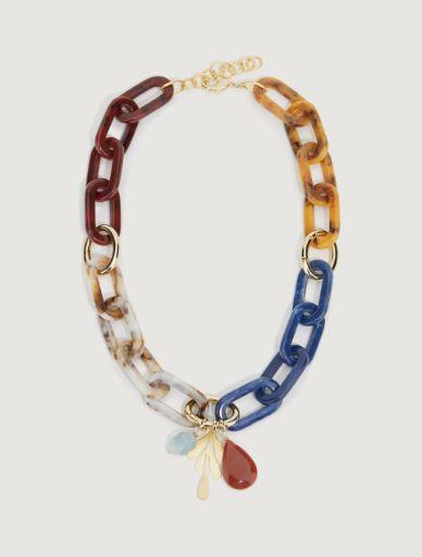 Resin necklace Marella
