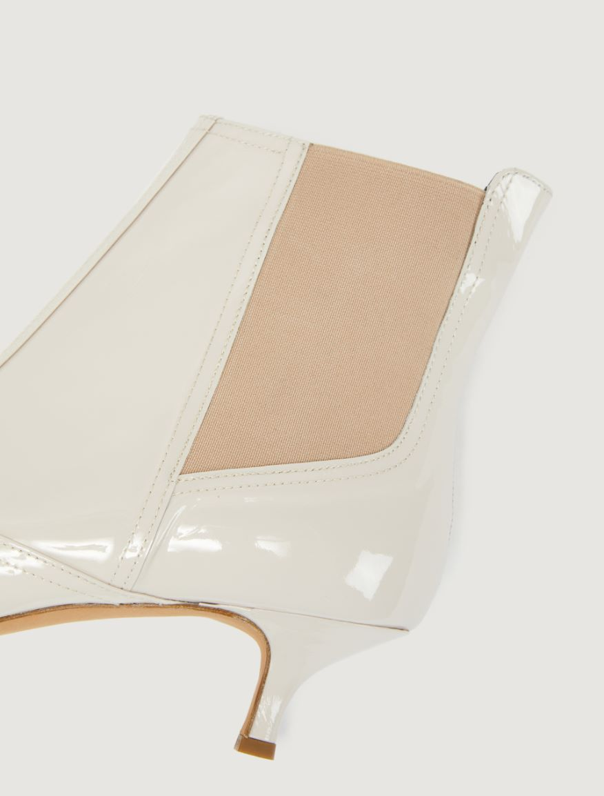 Patent leather ankle boots Marella