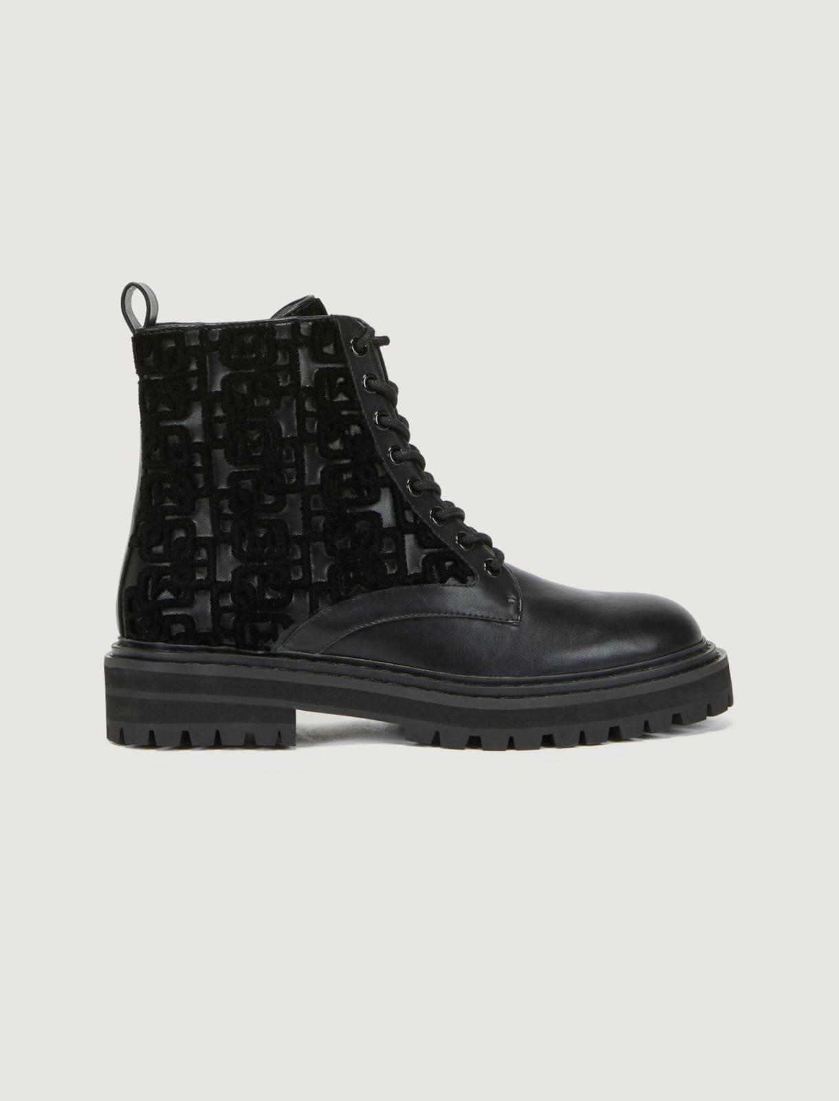 Lace-up combat boots Marella
