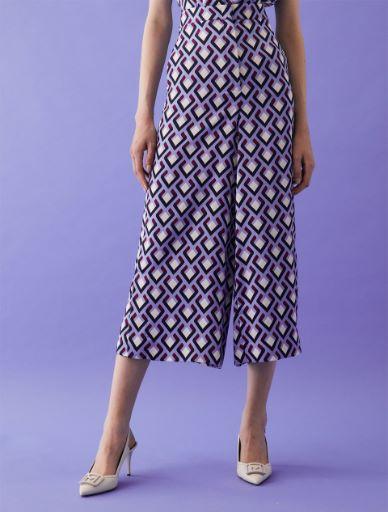 Satin trousers Marella
